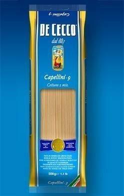 Dececco Pasta Capelini Pasta ( 20x16 OZ) ( Value Bulk Multi-pack)