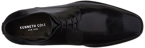 Kenneth Cole Winning Ticket, Scarpe Stringate Derby Uomo nero