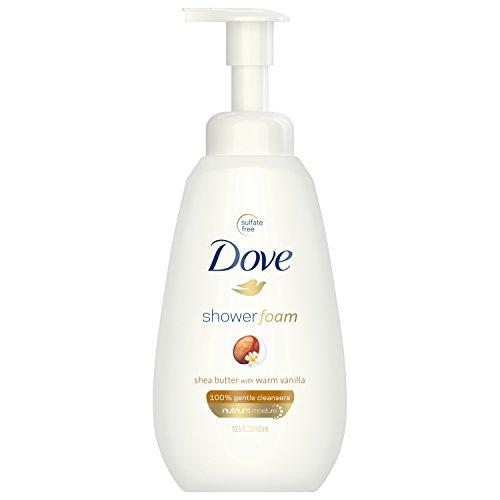 - Dove Shower Foam, Shea Butter with Warm Vanilla, 13.5 oz