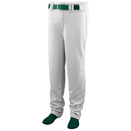 Augusta Sportswear Augusta Series Baseball/Softball Pant, White, Medium