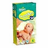Pampers Swaddlers Diapers Size Newborn Jumbo bag 36 Count