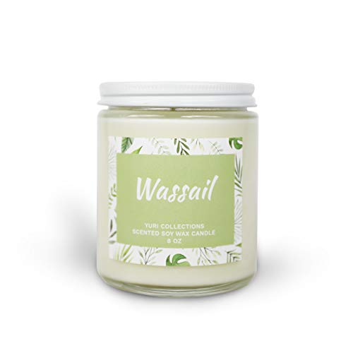 Yuri Collections Scented Candles - Limited Edition (Wassail Scented Candle, 8 - Collection Wassail