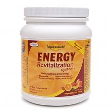 Enzymatic Therapy Energy Revitalization System Drink Mix Citrus 25.0 oz 1 pack by Enzymatic Therapy