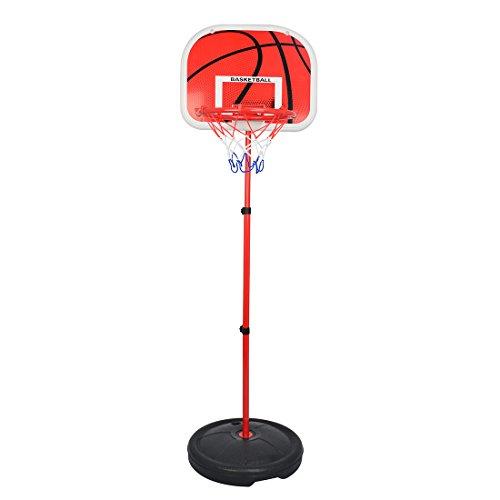 Basketball Stands,GTKRTU Adjustable 73-170CM Basketball Stands Height Kids Basketball System Hoop Toy Set, Suited for Indoor and Outdoor