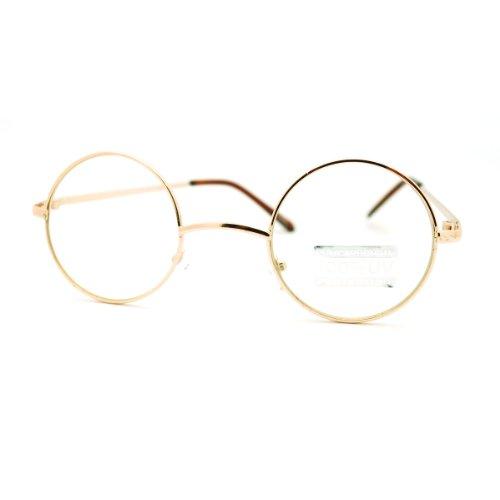 Gold  (Glasses Round)