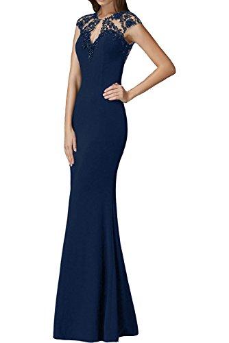 La Braut Blau Jugendweihe Trumpet Partykleider mia Navy Abendkleider Kleider Kleider Figurbetont Etuikleider Langes Grau wrw4fq