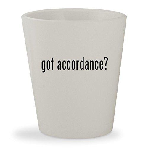 got accordance? - White Ceramic 1.5oz Shot - 2000 Converter 2002 2001 Catalytic