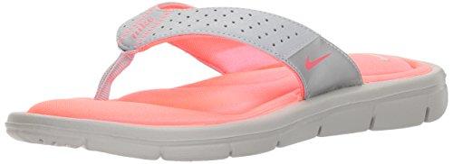 Nike Sweet Classic High (Gs/Ps) - Zapatillas de ante para niño Wolf Grey/Hot Punch