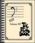 Real Book Vol 3 2nd Ed - Bass Clef Edition