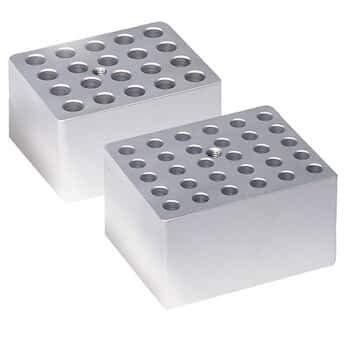 Techne Dri-Block Aluminum Heating Block Insert, 20 x 20 mm Diameter, Flat Bottom