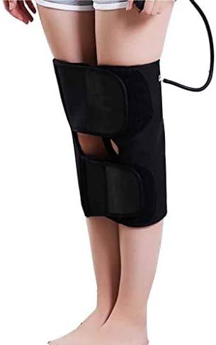 脚補正X/O型バンド - 痛みを緩和し、筋肉をリラックス (Color : Black)