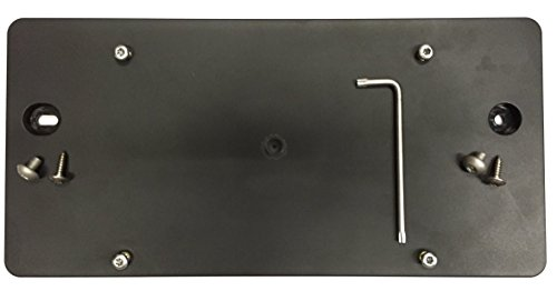 Trunknets Inc Rear License Plate Bracket for Audi A4 S4 2013 14 15 2016 2017 2018 2019 + 8 Unique Screws & Wrench ()