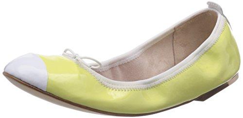 Bloch Luxury Ballet Flat BL 483 - Bailarinas de cuero para mujer amarillo - Gelb (SUN)