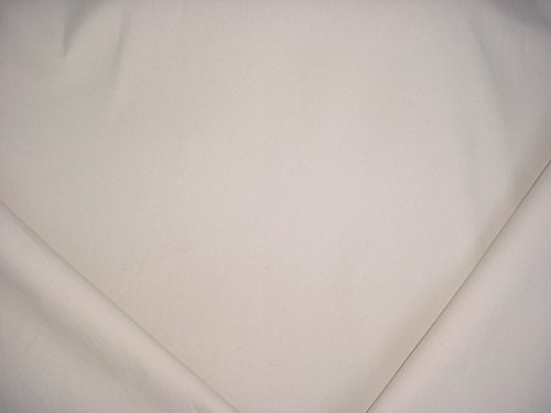 137RT15 - Natural White Flecked Sailcloth Duck Cotton Canvas Designer Upholstery Drapery Fabric - By the Yard