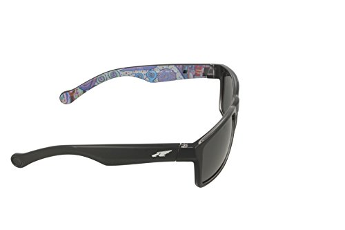color sol negro Arnette lentes mm Gafa Specialist color polar de con rectangular 59 gris twqSzw