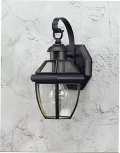 forte-lighting-1101-01-04-exterior-wall-light-with-clear-beveled-glass-shades-black