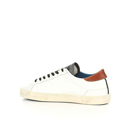 Bianco A Hill 27603 Pelle Scarpa in Uomo Bianco White D Low E T Pop Sneakers PDP 6Odzw7qI