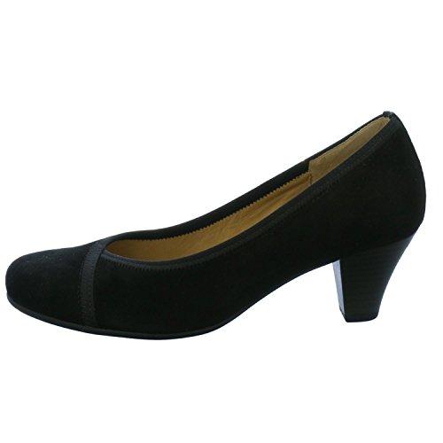 48417 Femmes Les Des Noir 35 Noir Pompes Gabor Uk rwqarFp