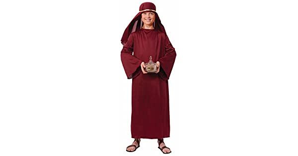 Amazon.com: Biblical Times Shepherd Burgundy - Albornoz ...