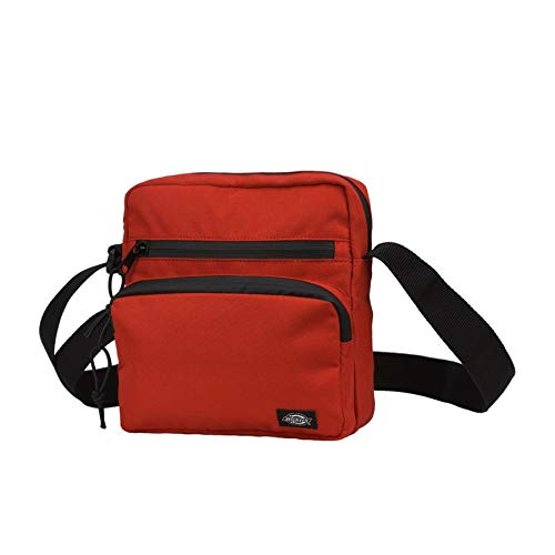 (Dickies Gilmer Messenger Bag One Size Fiery Red )