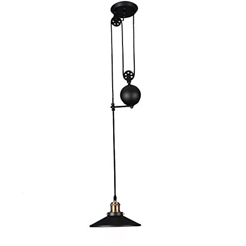 Pendant Light With Counterweight