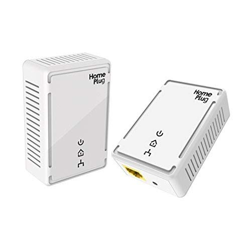 VICTONY Powerline Adapter Kit 500Mbps, HomePlug AV - Fast Ethernet, Powerline Ethernet Adapter