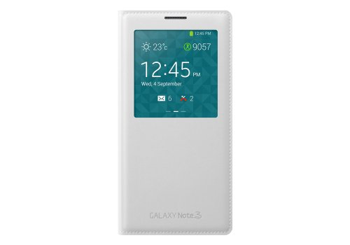 Click to buy Samsung Original EF-CN900BBEGWW S-View Smart Cover Slim Flip Case for Samsung Galaxy Note3 N9000 N9002 N9005(white) - From only $38.99