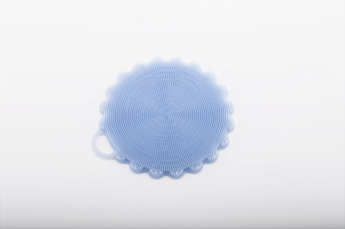 LIFE VIP Versatile Flower-Shaped Beverage Coasters Silicone Scrubber(size:137*125*9mm) (clear blue) (Vip Insulation compare prices)