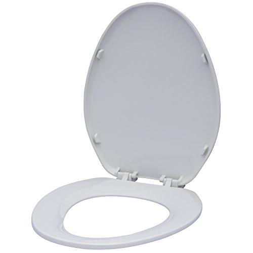 Karlson KS1241-1901-WH Builder Grade Plastic Elongated Toilet Seat White by Karlson (Image #8)