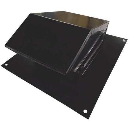 Cap Duct Aluminum Roof (Roof Cap 4 In. Fits Duct Size Aluminum)