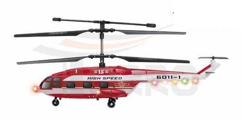 Torro Transcopter 3-Kanal RC Gyro - Rot- Helikopter Torro Heli