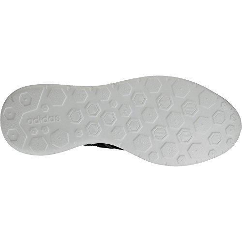 adidas Lite Racer, Zapatillas de Deporte Para Niños Blanco-Negro-Plateado