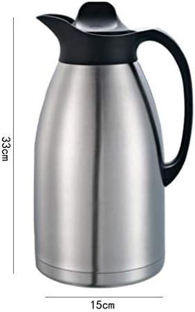 1 PC Vide Pot en acier inoxydable grande capacité d/'eau bouilloire pour CAFE RESTAURANT