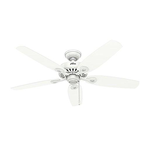 Hunter 53236 Builder Plus 52-inch Ceiling Fan, Snow White by Hunter Fan Company (Image #2)'