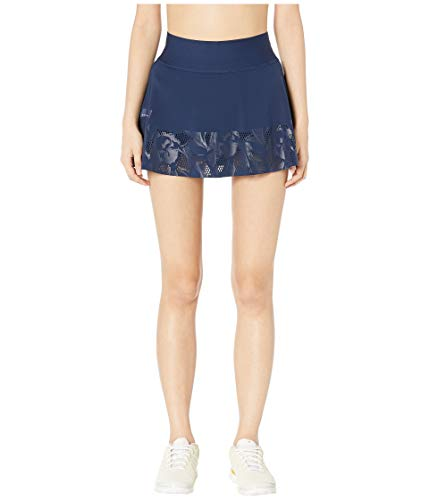 (adidas Women's by Stella McCartney Floral Skirt Night Indigo Medium)