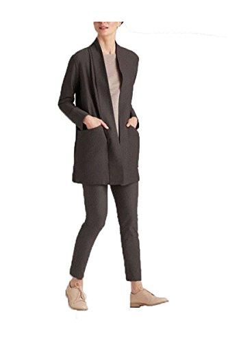 Eileen Fisher Washable Stretch Crepe Kimono Jacket