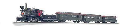 Bachmann Trains - White Pass & Yukon Passenger Ready to Run Electric Train Set - On30 Scale - Runs on HO Track