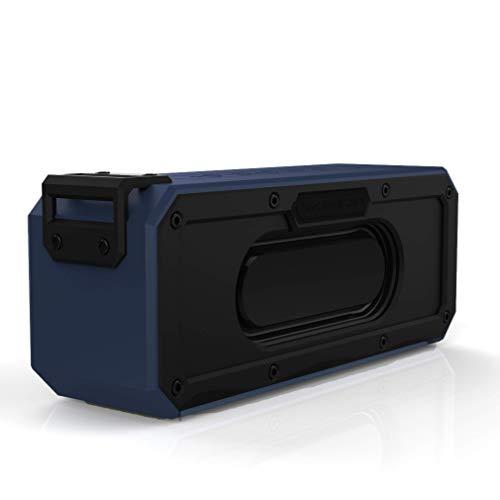 DEBON 40W Portable Wireless Speaker Bluetooth 4.2 Waterproof IPX7 Dustproof Shockproof 15 Hour Playtime TWS Dual Driver Powerful Speakers for Outdoor Home Bar Party Travel Beach Shower Hiking (Blue) -