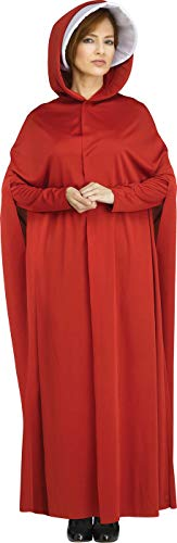 Best Handmade Costumes (Fun World Women's The Maiden, red, Std. Size)