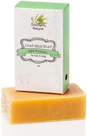 Essential Oil Blend - Handmade Goat Milk Soap Bar - For Eczema, Psoriasis & Dry Sensitive Skin. 100% Natural & Gentle For Men, Women & Children. (1 BAR Apprx 4oz)