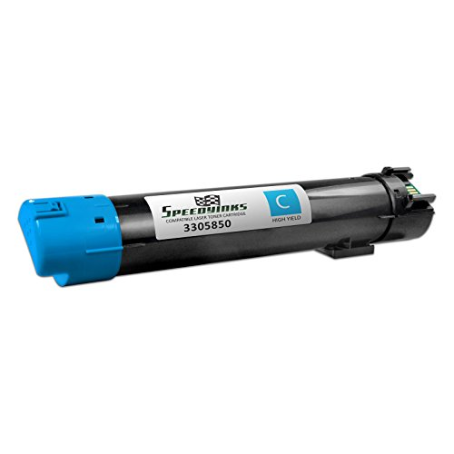 Speedy Inks - Compatible Dell 5130 5130cdn High Yield Cyan 330-5850, P614N Toner Cartridge for use in 5120cdn, 5130cdn, & 5140cdn