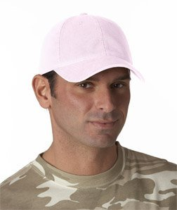 Flexfit® Garment-Washed Cotton Twill Cap - Light Pink - L/XL