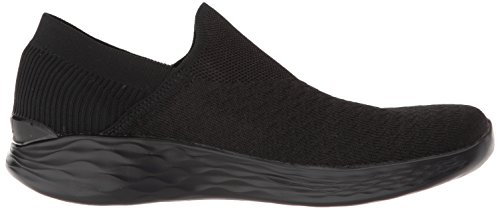 You Femme Noir Enfiler Baskets transcend Skechers 1xPAaqUa