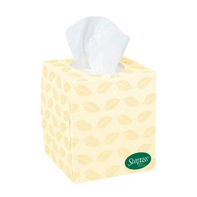 Kimberly-Clark Professional Surpass Boutique Fiber 2-Ply Facial Tissues - 110 Tissues per Box / 36 Boxes