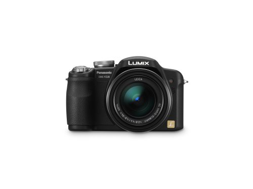 Panasonic  Lumix DMC-FZ28K 10MP Digital Camera with 18x Wide Angle MEGA Optical Image Stabilized Zoom (Black) (Panasonic Dmc Fz28)