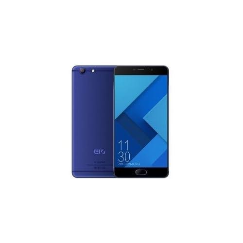 Telefono Movil Smartphone Elephone R9 32Gb 5 5 Azul 32Gb ROM 3 GB Ram 13Mpx 5Mpx Deca Core Lector Huella 4G Dual Sim Pantalla 3D