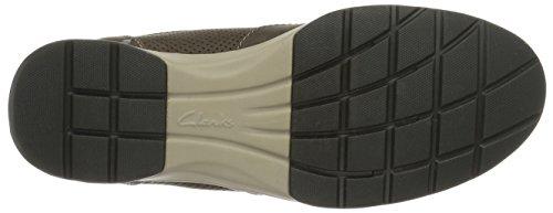 PARK5 Shoe PARK5 CLARKS Nobuck Grey CLARKS Stafford Stafford Grey CLARKS Gray Shoe Gray Nobuck HAqWvYW8wB