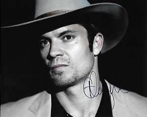 Timothy Olyphant Signed In-person 8x10 Justified Photo