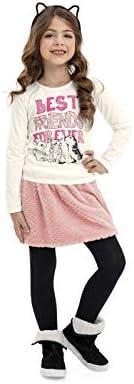 Blusa Infantil Manga Longa Quimby Meninas
