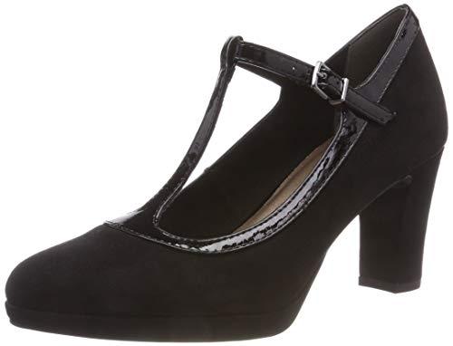 black 24413 31 Femme Noir Tamaris 1 Escarpins 8XFqR8wv